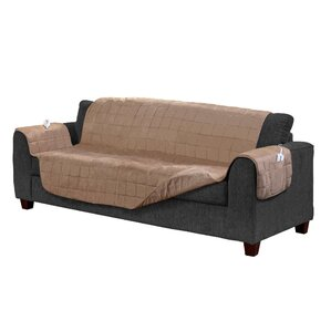 Box Cushion Sofa Slipcover by Serta