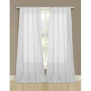 belmonte keyword grommet embroidered curtains sheer set save panels wayfair geometric of curtain