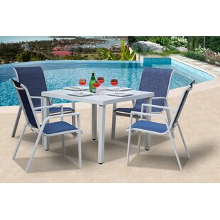 Ebern Designs Vivian 5 Piece Dining Set