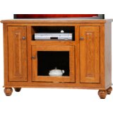 Spoffo Solid Wood TV Stand for TVs up to 50 by Alcott Hill®