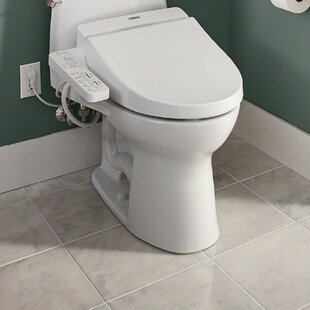 Fabulous Washlet C100 Elongated Toilet Seat Bidet Customarchery Wood Chair Design Ideas Customarcherynet