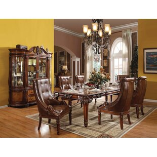 Sherley Solid Wood Dining Table Astoria Grand