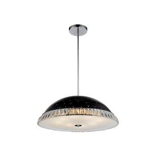 CWI Lighting Dome 8-Light Bowl Pendant