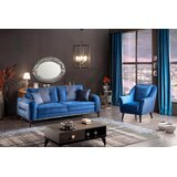 Wolak 4 Piece Standard Living Room Set by Everly Quinn