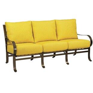 Woodard Cascade Sofa with Cushions