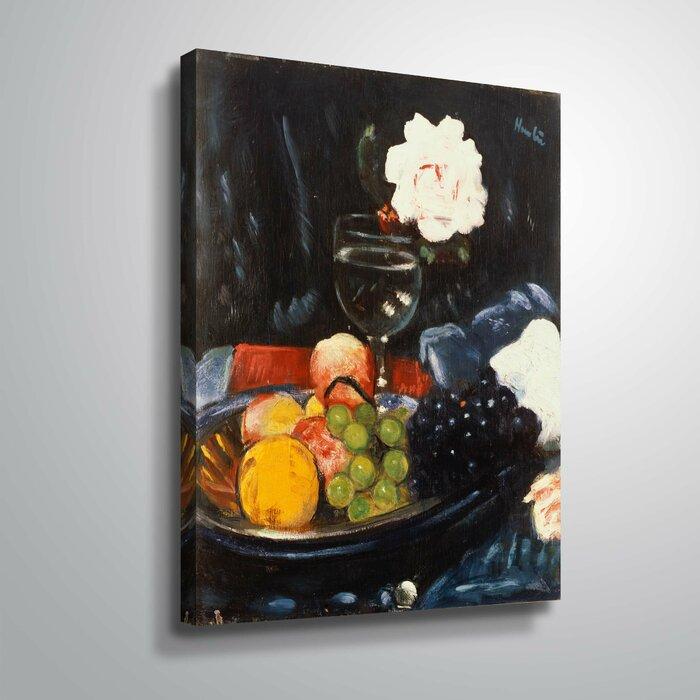 Winston Porter The Fruit Bowl Oil Painting Print On Canvas Wayfair