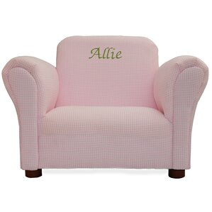 Little Furniture Personalized Kids Club Chair