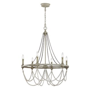 Greyleigh Alliance 6-Light Candle Style Chandelier