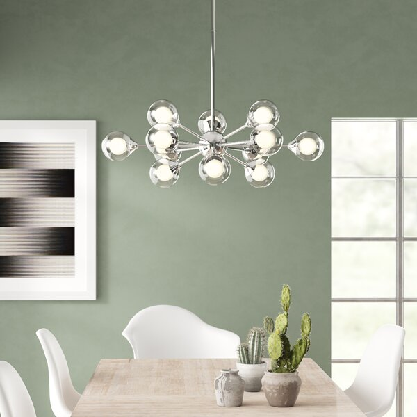 David Rembert 12 Light Sputnik Sphere Chandelier Reviews Allmodern