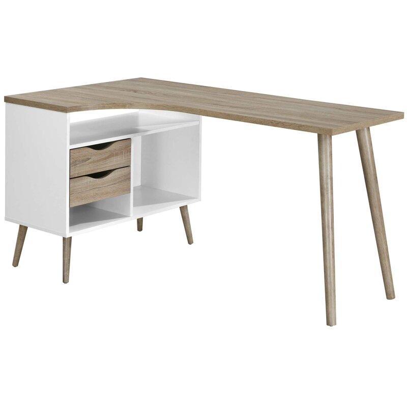Mikado Living Addyson L Shaped Computer Desk Reviews Wayfair Co Uk