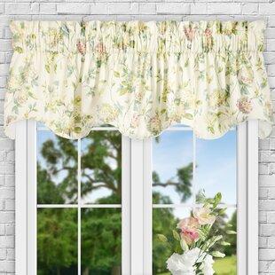 Kyra Hydrangea Lined 70 Curtain Valance by Ellis Curtain