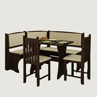 Everby 4 Piece Breakfast Nook Dining Set