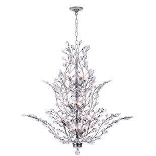 CWI Lighting Ivy 18-Light Candle Style Chandelier