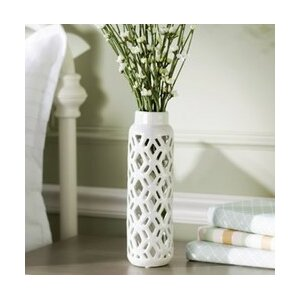 2 Piece Ceramic Table Vase Set