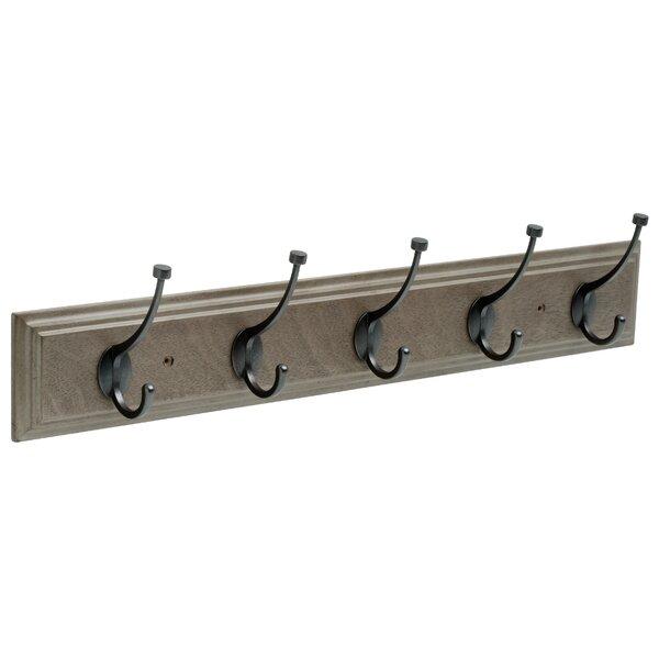 Vintage Style Vertical Brown Iron Metal Towel Bathroom Hall Hook  Coat Rack