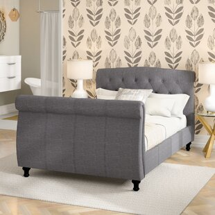 Merle Upholstered Sleigh Bed By Ophelia & Co.