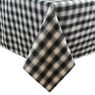French Check Tablecloth