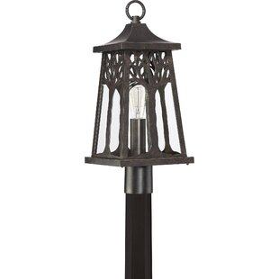 Best Reviews Yeung 1-Light 9.25 Post Light By Millwood Pines