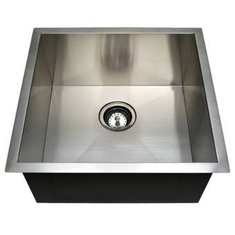 American Standard Pekoe 17 L X 17 W Undermount Kitchen Sink With Drain And Bottom Grid Wayfair