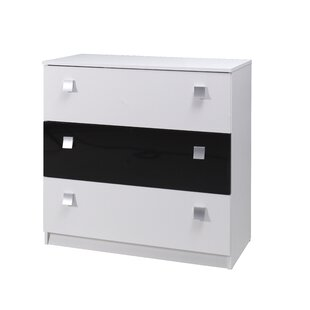Felisa 3 Drawer Chest Of Drawers By Metro Lane