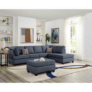 Nottingham Reversible Sectional with Ottoman