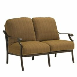 Montreux Loveseat With Cushions by Tropitone Coupon