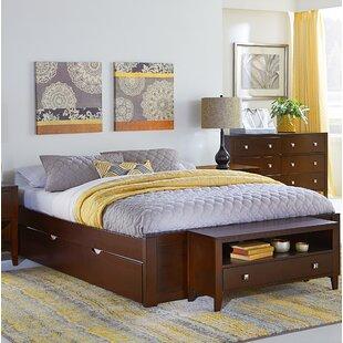 Granville Platform Bed with Trundle