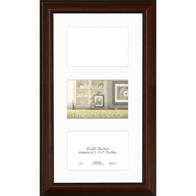 Alcott Hill 3 Opening Collage Wall Picture Frame | Wayfair