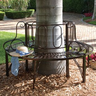 Roundabout Architectural Steel Garden Bench
