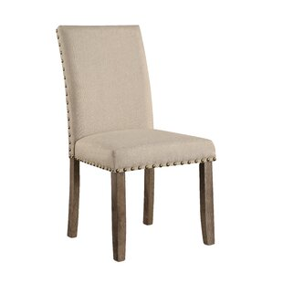 Mach Upholstered Dining Chair (Set of 2) Gracie Oaks