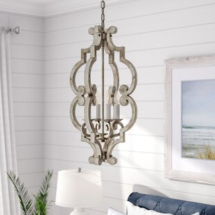 Dov 4-Light Lantern Pendant by Beachcrest..