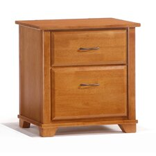 Spices Bedroom 2 Drawer Nightstand by Night & Day Furniture