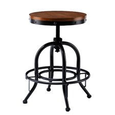 Industrial Adjustable Stool by Wildon Home