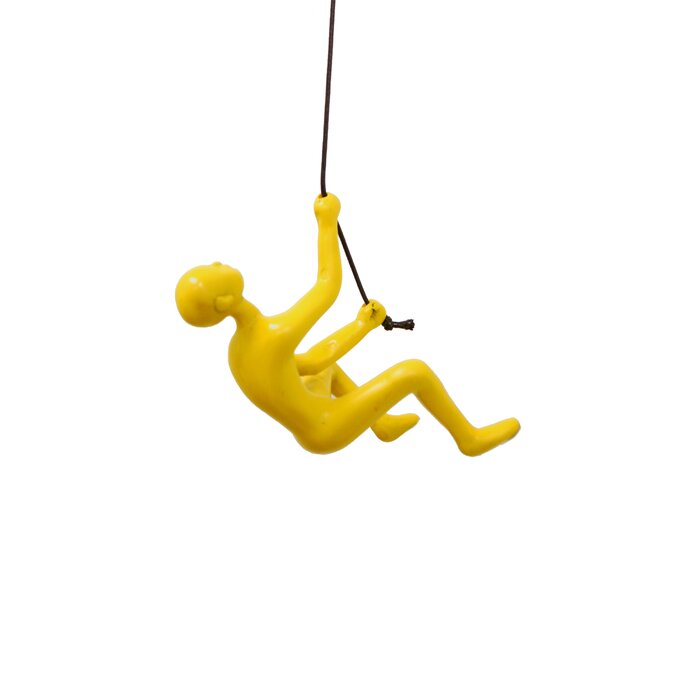Lifestyle Group Distribution Climbing Man Wall Décor & Reviews ...