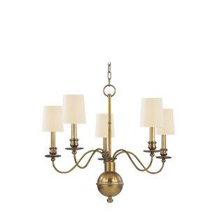 Darby Home Co Lindgren 5-Light Shaded Chandelier