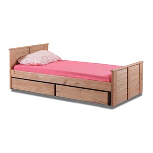 Buy clear Evatt Twin Mate's Bed with Roll-out Underbed Storage by Harriet Bee Reviews (2019) & Buyer's Guide