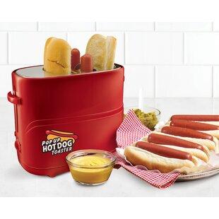 2 Slice Pop-Up Hot Dot Toaster