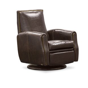 Leather Power Swivel Recliner Fornirama