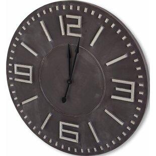 Lancaster 42 Brown/Black Wall Clock