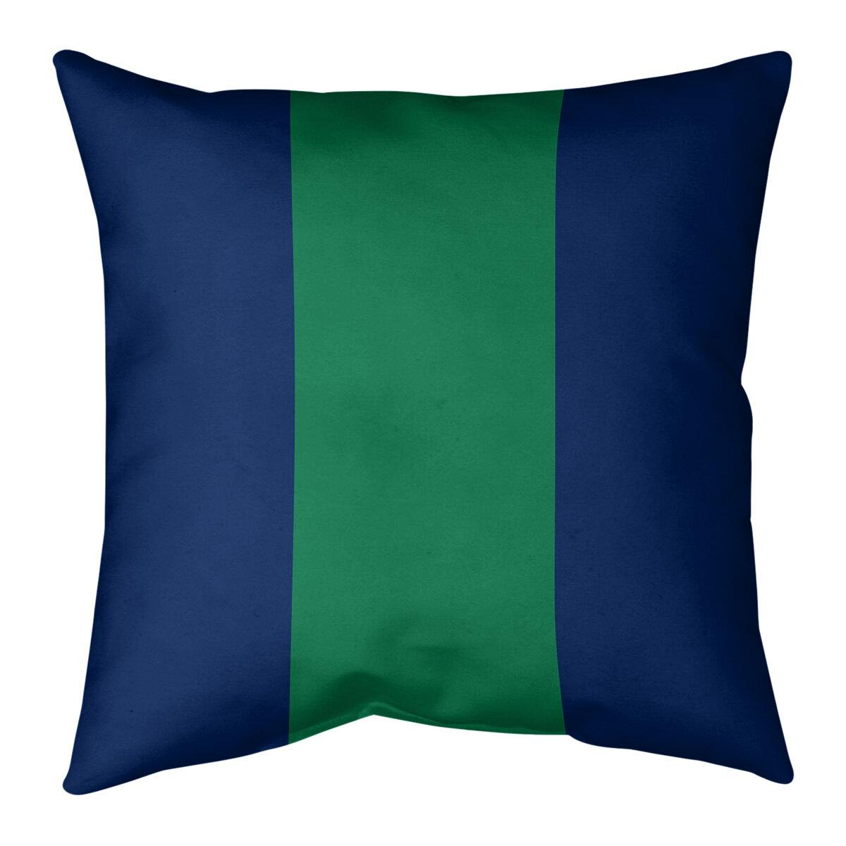 Artverse Vancouver Hockey Striped Pillow Wayfair