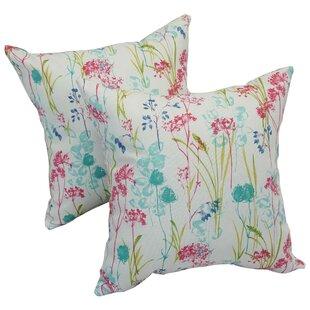 Seline Spring Outdoor Throw Pillow (Set of 2)