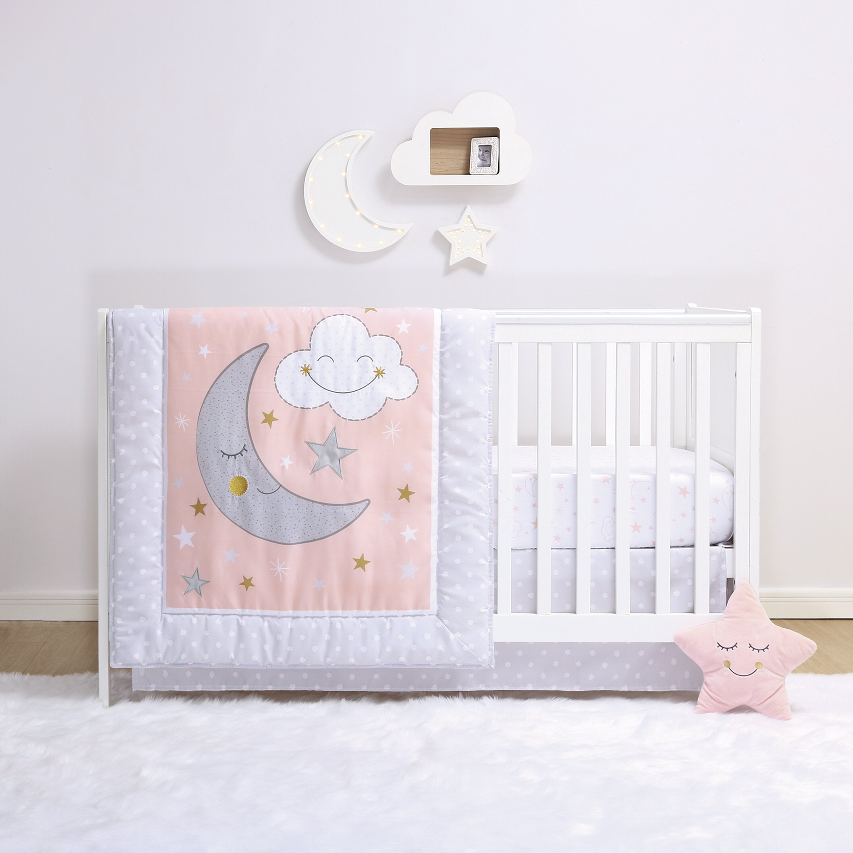 Little Haven La Luna 4 Piece Crib Bedding Set | Wayfair