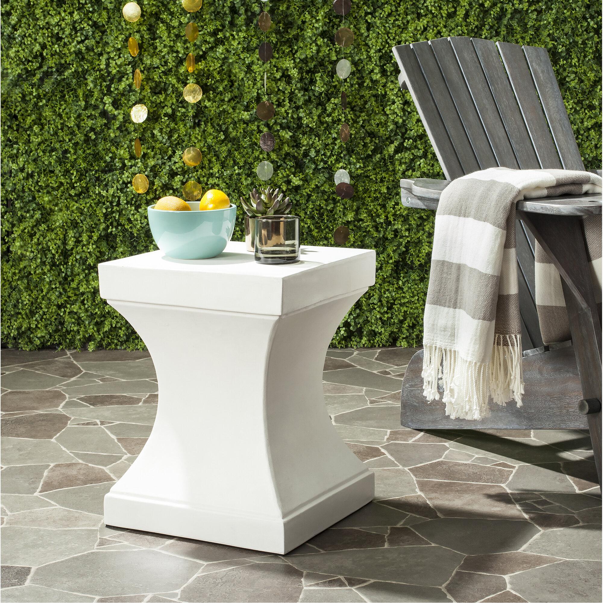 Trent Austin Design Chestle Block End Table Reviews Wayfair