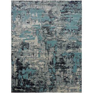 Rayleigh Blue/Gray Indoor/Outdoor Area Rug