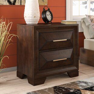Union Rustic Pennington 2 Drawers Nightstand by Simmons Casegoods