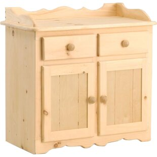 Chelsea Home Furniture Dajuan Dry Sink 2 Drawer Accent Cabinet