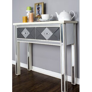 White Mirrored Console Tables Youll Love Wayfair