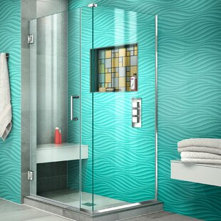 Unidoor Plus 31.5 x 72 Hinged Frameless Shower Door with Clear Max Technology by DreamLine