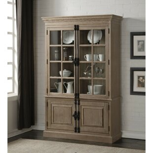 Darby Home Co Frome Wooden China Cabinet