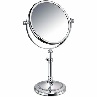 Purchase Pavilion Circular Makeup/Shaving Mirror By Rosdorf Park